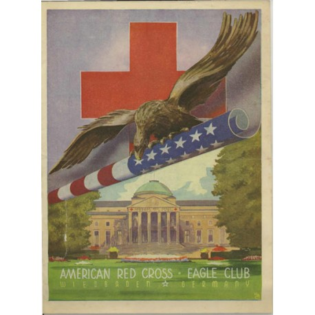 American Red Cross Eagle Club Wiesbaden.