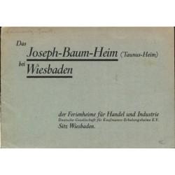 Das Joseph-Baum-Heim bei Wiesbaden (1930)