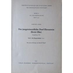 H. Zürn, Das jungsteinzeitliche Dorf Ehrenstein (Kreis Ulm) (1965/68)