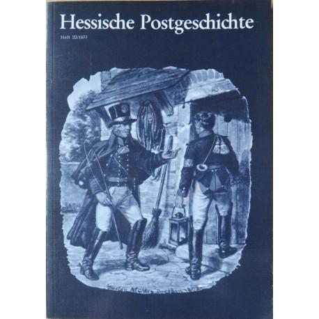 A. Eidenmüller, Das neue Postamt Wiesbaden.Hessische Postgeschichte, Heft 22/1977