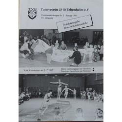 Turnverein 1864 Erbenheim e. V., Vereinsmitteilungen Nr. 1, 44 Jahrgang, Januar 1996