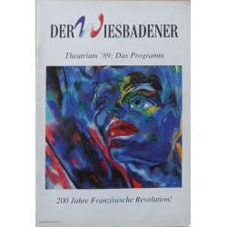 Der Wiesbadener. Theatrium `89: Das Progamm